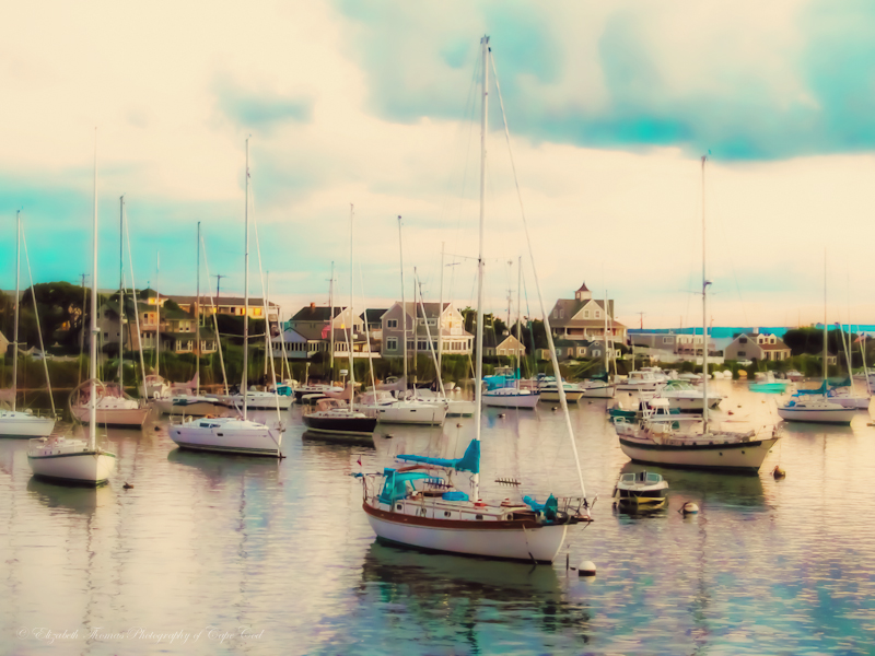 Falmouth Harbor - Available for purchase on ETSY