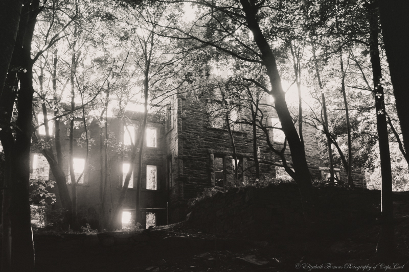 A haunting ruin in Portland Maine. Print available for purchase on ETSY here.