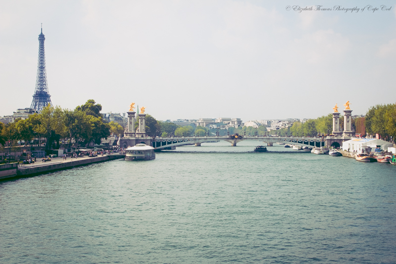 Eiffel Tower across the Seine. Purchase print here...