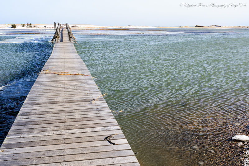 A view of Town Neck Beach in Sandwich on Cape Cod. This view is across the marsh which is flooded during high tide.