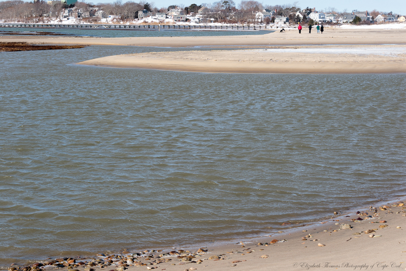 Here is another view of the new sand dune that has been formed.