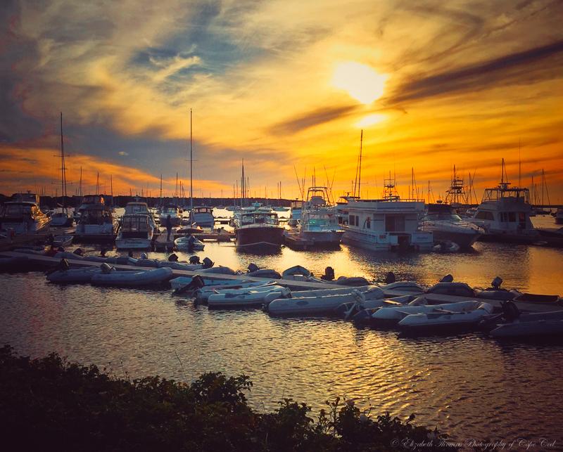Sunset over Kingman Marina